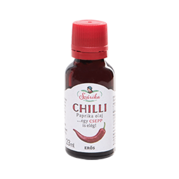 CHILLI erős paprika olaj