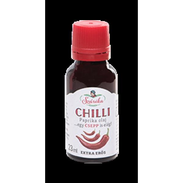 CHILLI extra erős paprika olaj